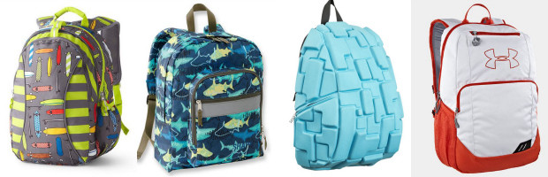 "Backpacks ""Without The Girly"""