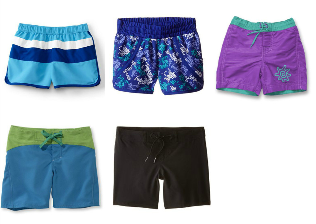 2016 swim guide girls board shorts