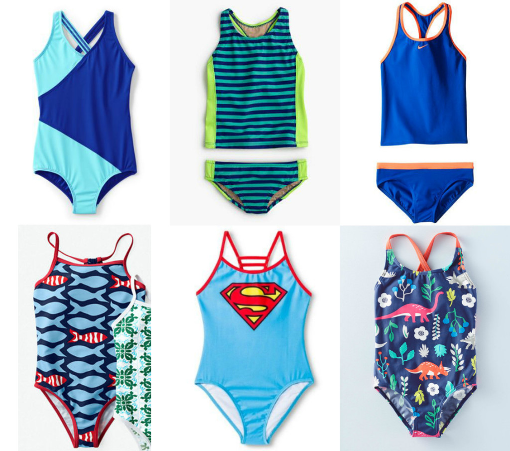 Girls Swimsuit Guide Tankinis and One-Pieces
